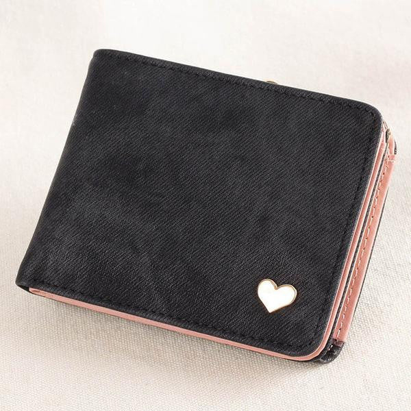 Solid Heart Wallet