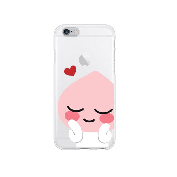 Kakao Lovely Apeach iPhone Case