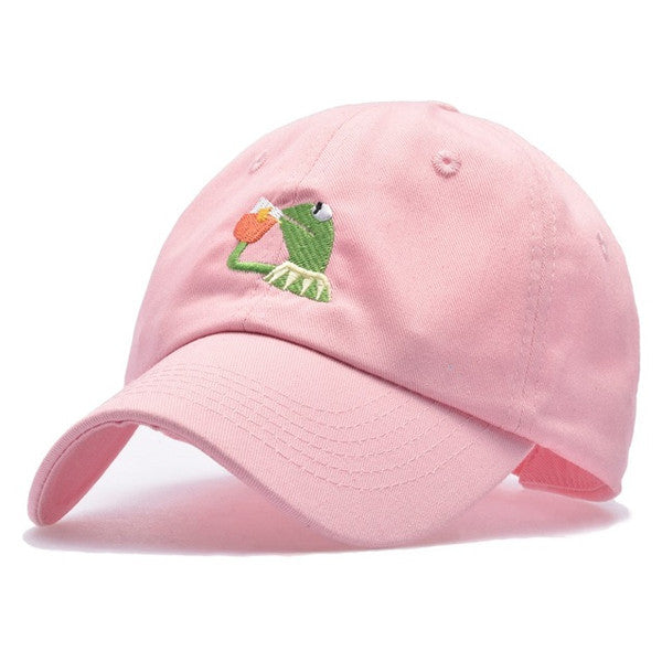 Embroidered Kermit Hat (3 Colors)
