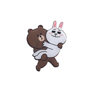 Brown x Cony Pin