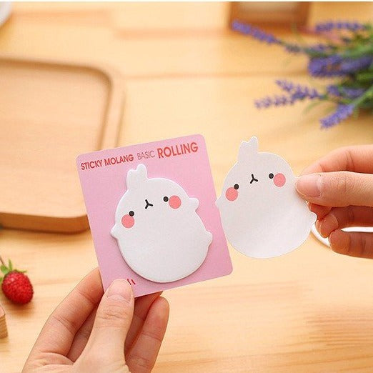 Molang Sticky Notes (4 Types)