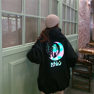 Sailor Moon Rainmoon Hoodie (2 Colors)