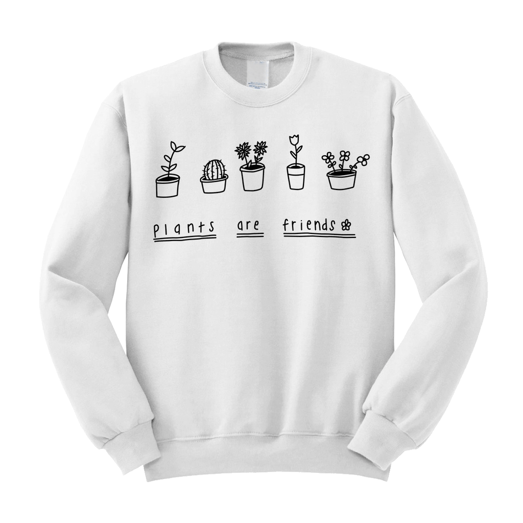 Plants Are Friends Sweater (3 Colors)