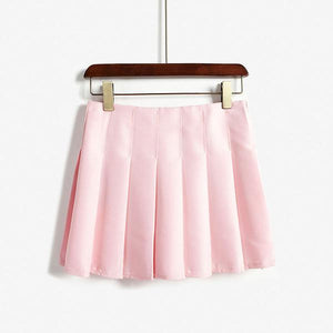 Pleated Pastel Skirt (3 Colors)