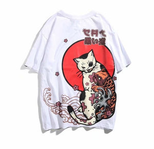 Cloudy Cat Tee (2 Colors)
