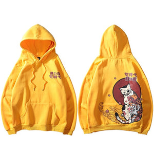 Cloudy Cat Hoodie (2 Colors)