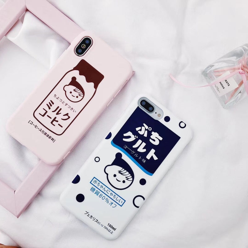 Milk Girl iPhone Case (2 Colors)