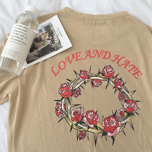 Love & Hate Tee (3 Colors)
