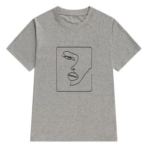 Abstract Tee (4 Colors)