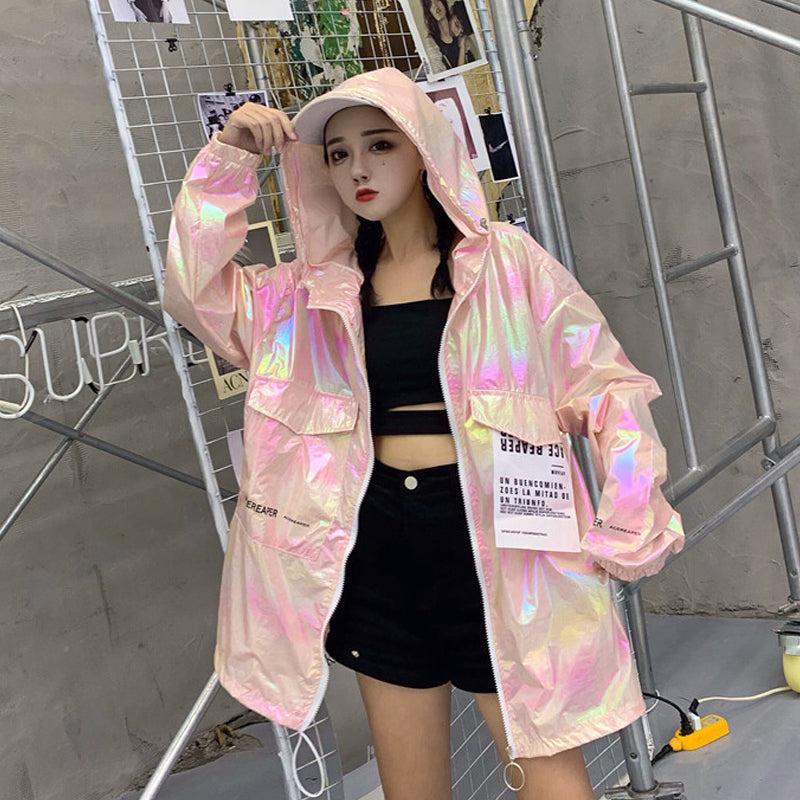 Retro Hologram Jacket (3 Colors)