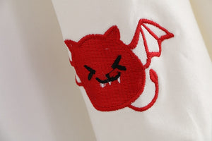 Embroidered Little Spirits Hoodie (2 Colors)