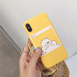 Bare Bears iPhone Case