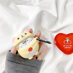 Fat Rilakkuma Airpod Case (2 Styles)