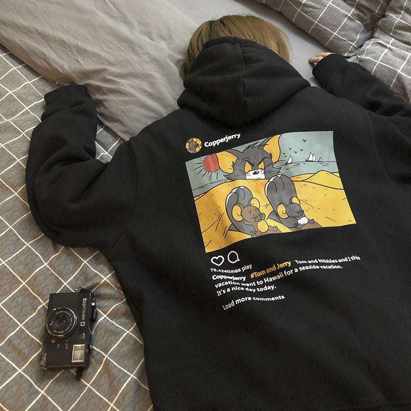 Tom Jerry Hoodie (2 Colors)