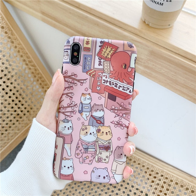 Cat Society iPhone Case (2 Styles)