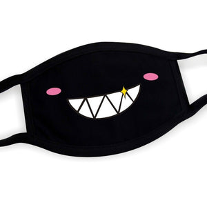 Black Kawaii Face Mask (16 Styles)