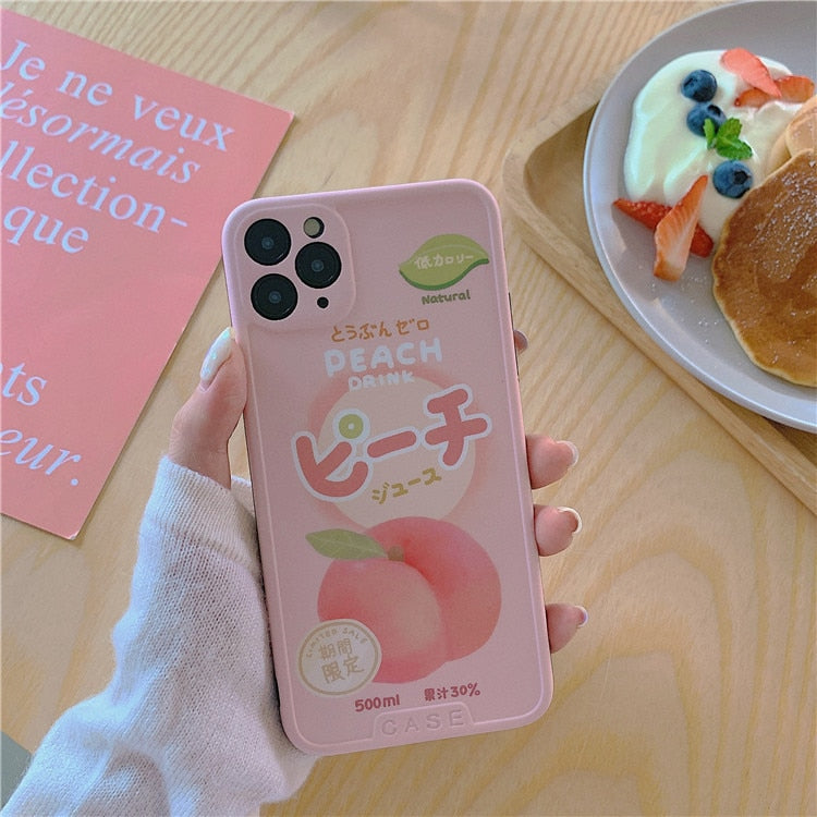Japanese Peach iPhone Case