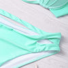 Sea Green Shell Bikini Set