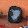 Transparent Heart Backpack (5 Colors)