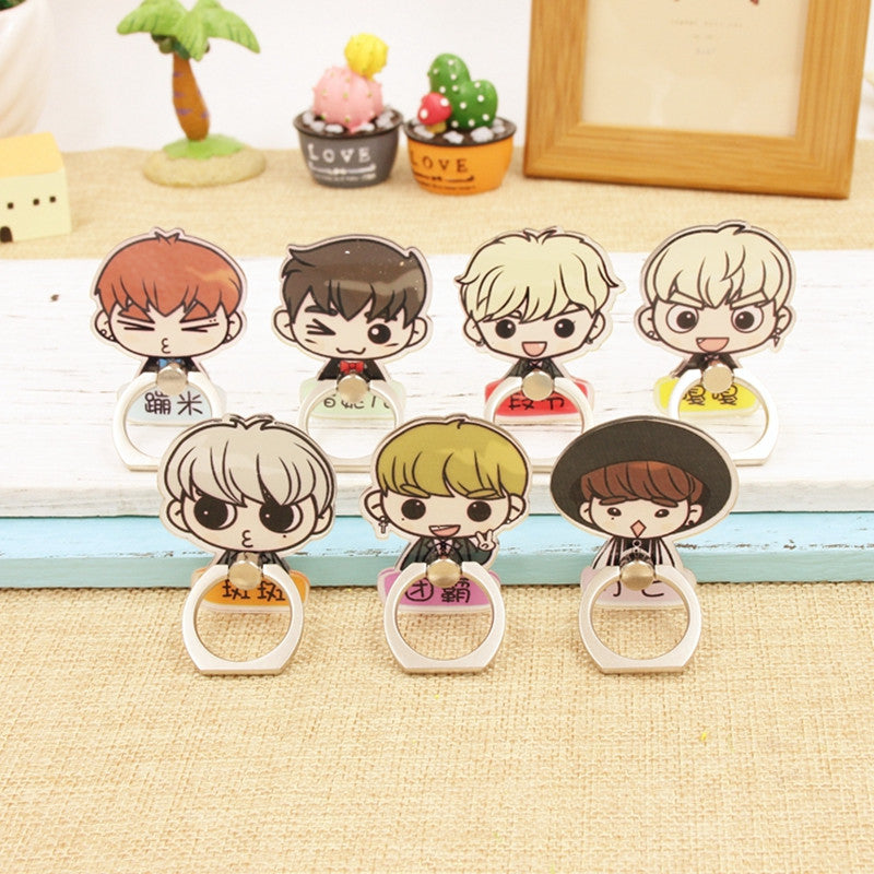 GOT7 Chibi Phone Case Ring (7 Varieties)