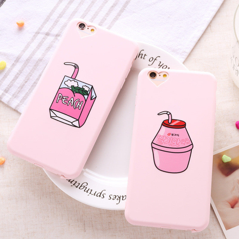 Peach Juicebox iPhone Case