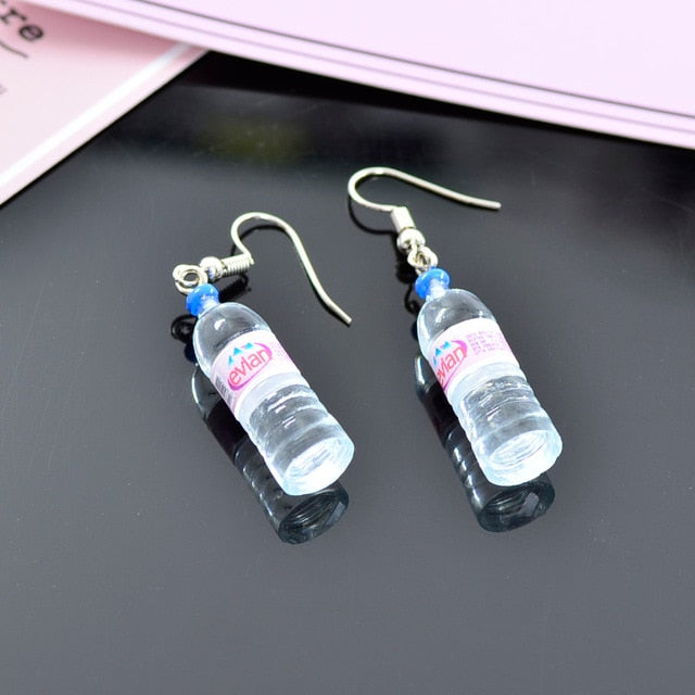 Mineral Water Earrings (2 Styles)