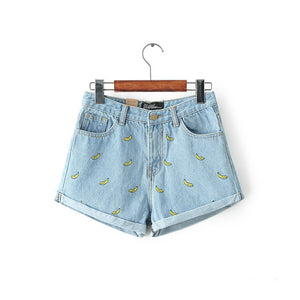 Banana Shorts (2 Colors)