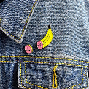 Sliced Banana Pins