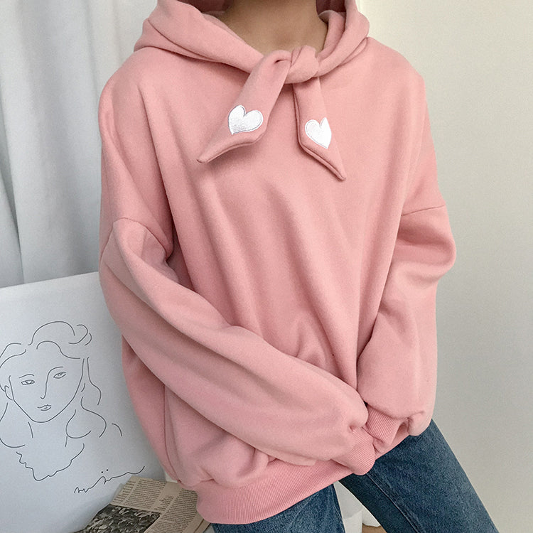 Knotted Heart Hoodie (3 Colors)