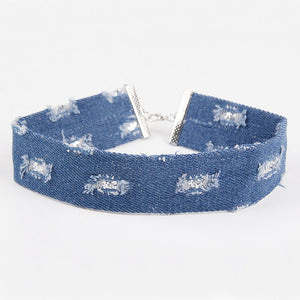 Denim Chokers (3 Colors)