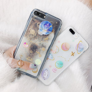 Galactic Glitter iPhone Case (2 Variants)