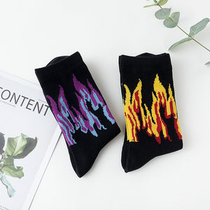 Down In Flames Socks (2 Colors)