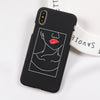 Lip Bite iPhone Case