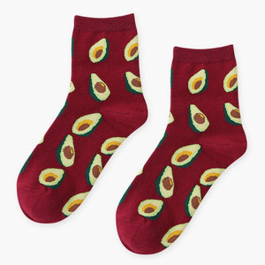 Plants X Fruits Socks (18 Variants)
