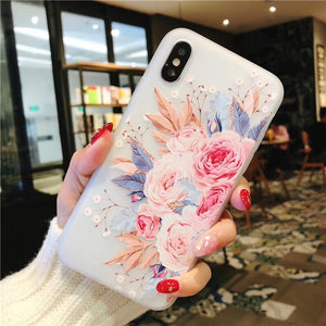 Flowery iPhone Case (4 Styles)