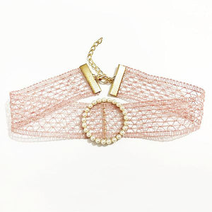 Heart Laced Choker (5 Styles)