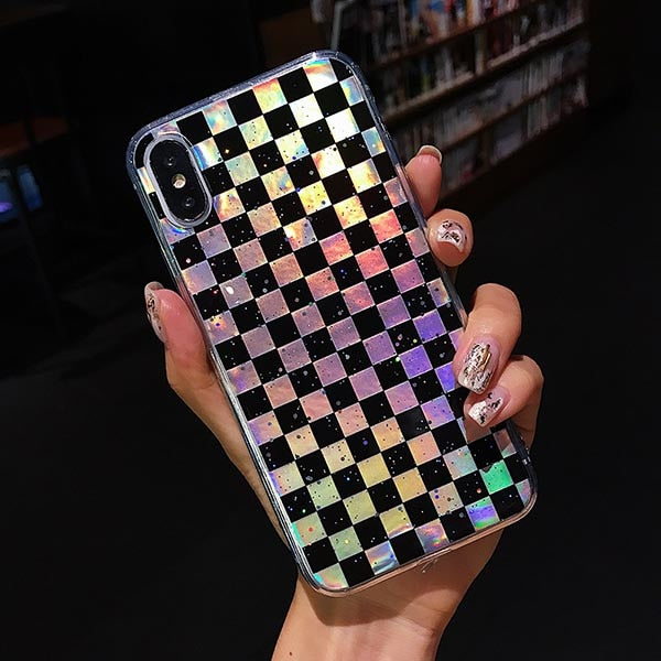 Checkered iPhone Case (2 Colors)