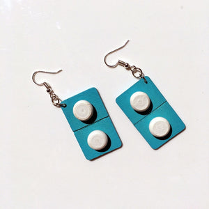Pill Earrings (2 Colors)