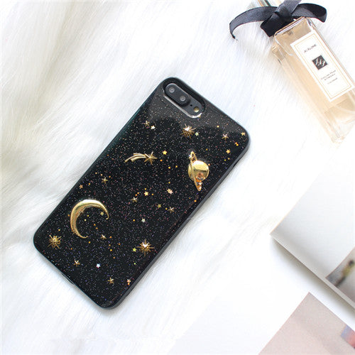 3D Galaxy iPhone Case (2 Colors)
