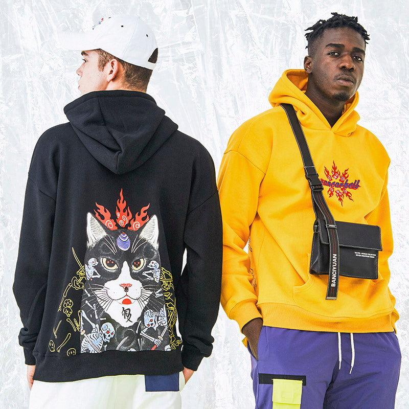 Oni Cat Pullover (2 Colors)