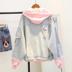 Pastel Denim Jacket