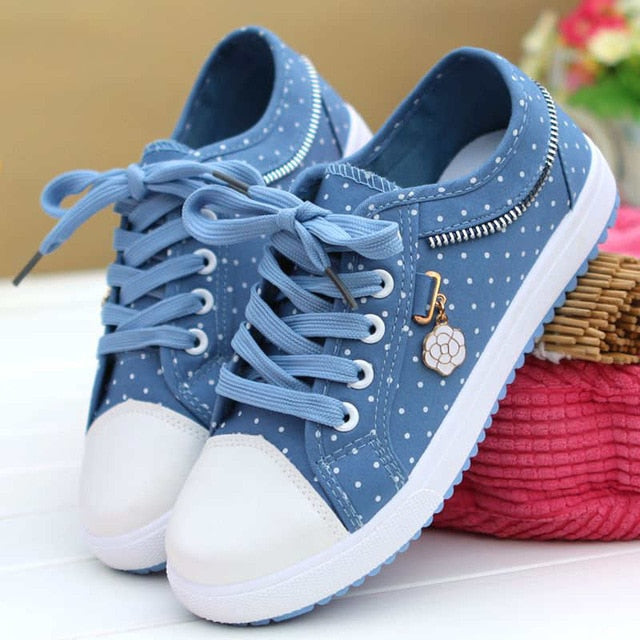 Polka Sky Shoes (4 Colors)