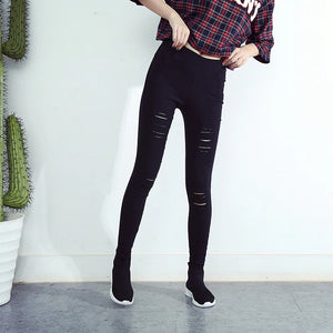 Ripped Leggings (2 Colors)