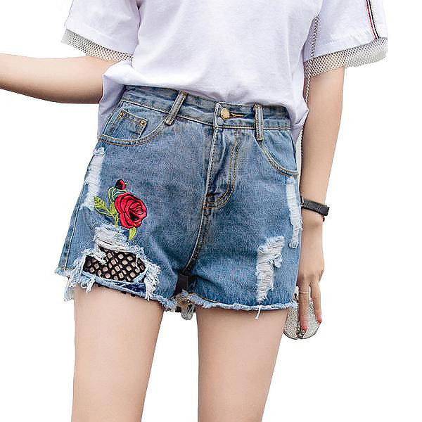 Rose Mesh Shorts (2 Colors)