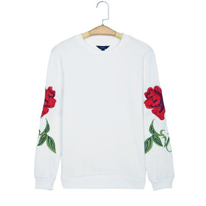Embroidered Rose Longsleeve (2 Colors)