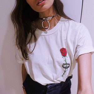 Thorned Rose Tee