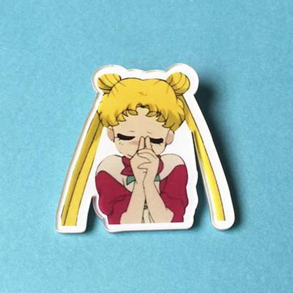 Sailor Moon Thinking Pin