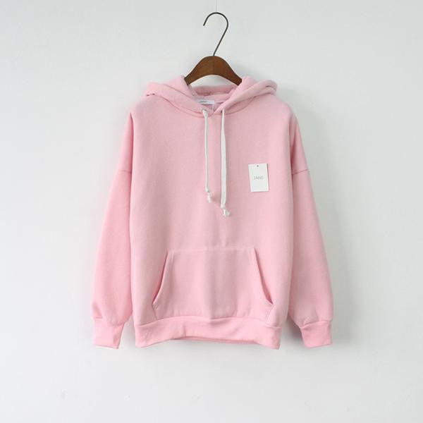 Simple Pastel Hoodies