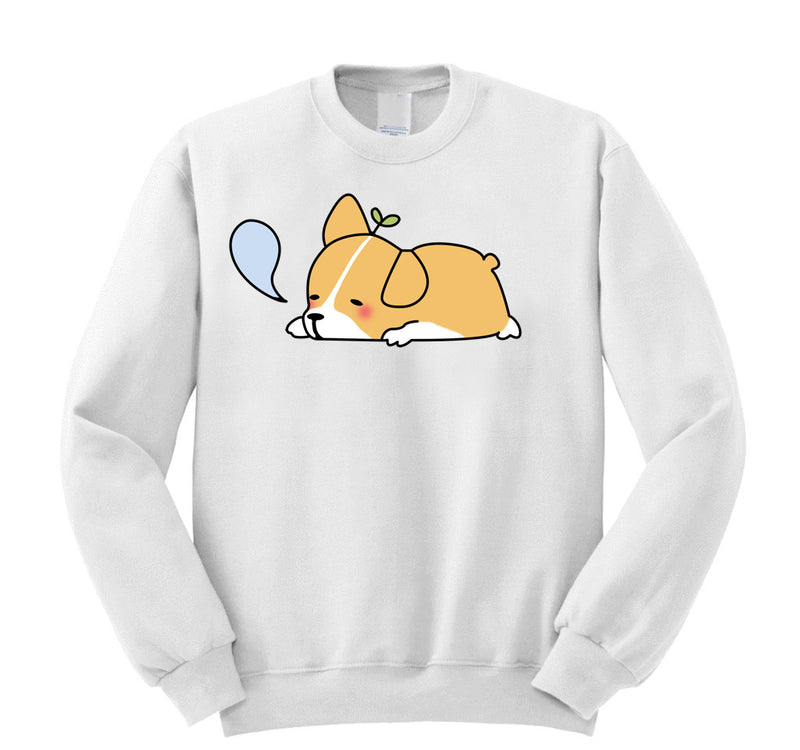 Sleepy Corgi Sweater