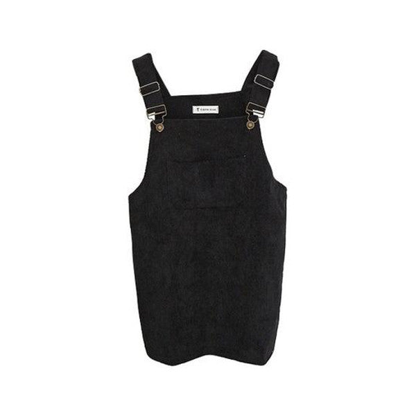 Korean Suspender Dress (4 Colors)